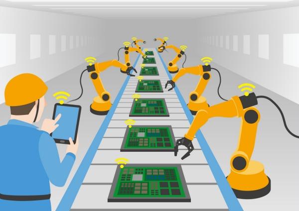 Risultati immagini per foto robot industria