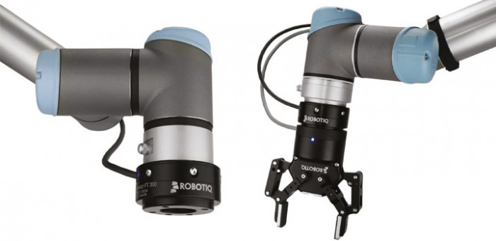 FT300 con UR3 e UR5