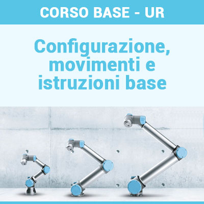 CORSO BASE - UR CB3 @ ALUMOTION COMPETENCE CENTER