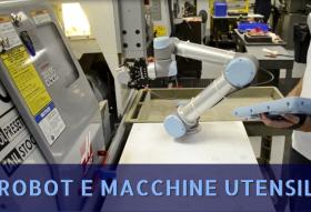 cnc asservimento macchine robot