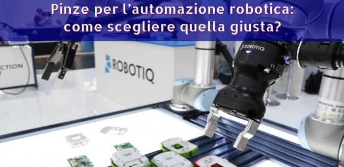 scegliere pinza robot