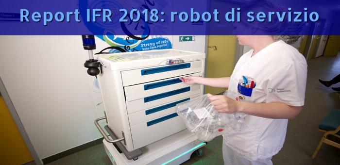 robot collaborativi di servizio