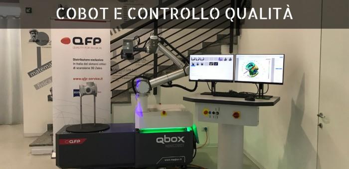 Cobot e Controllo Qualità: Workshop 8 marzo 2019